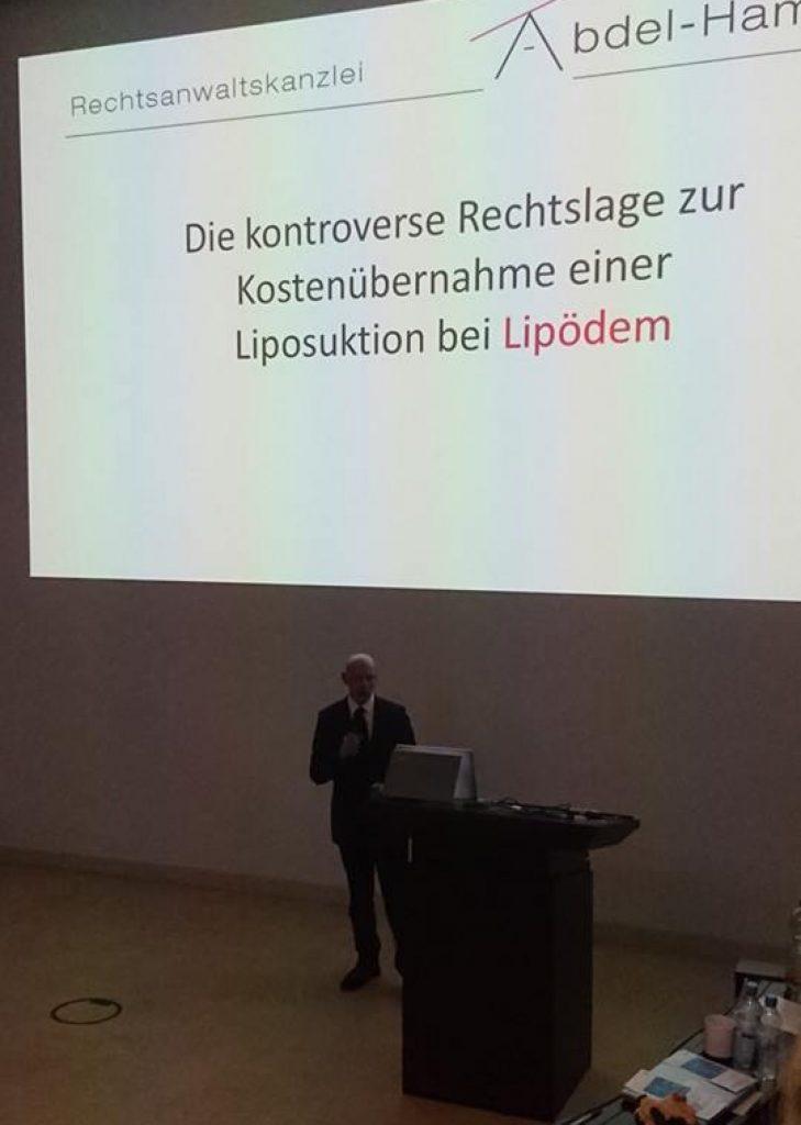 Vortrag Rechtslage Liposuktion bei Lipödem